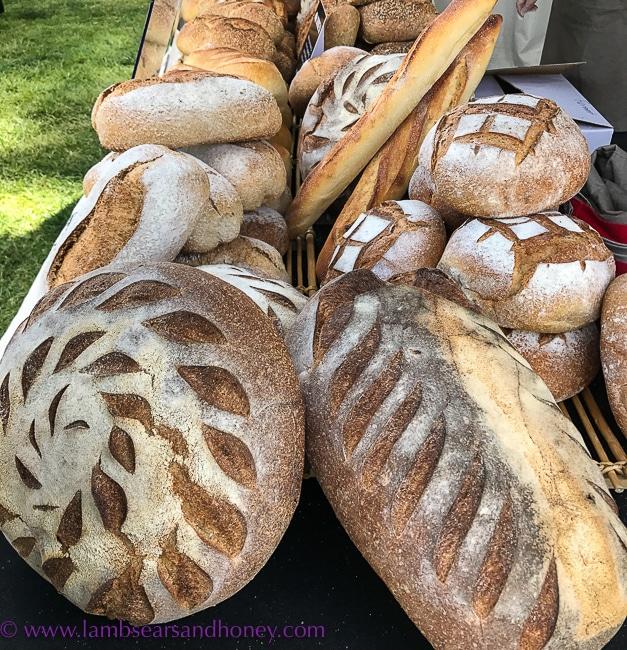 bread ingredients, Fresh Bread