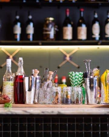 bar at L'Italy