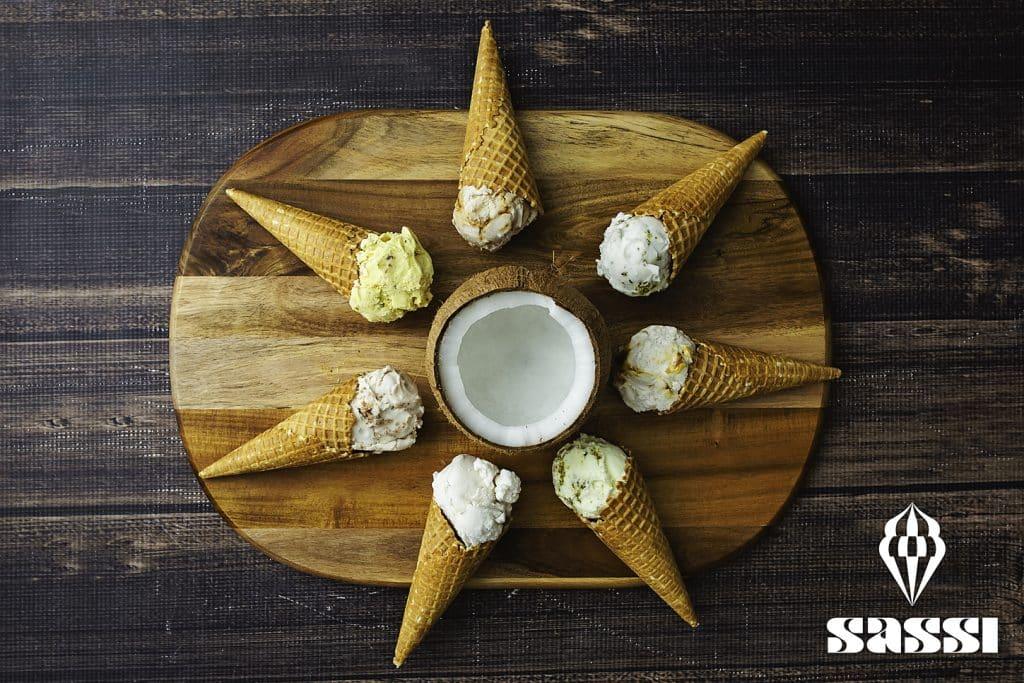 sassi ice cream cones