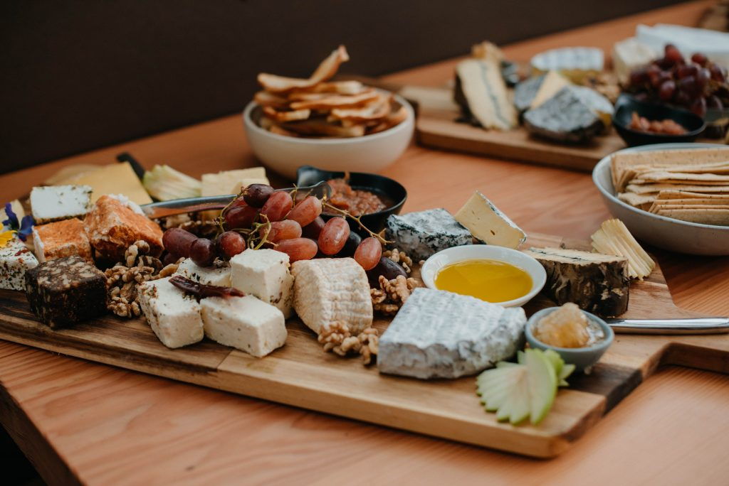 Cheesefest&FERMENT 2019, cheese platter