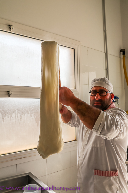 artisan cheese making