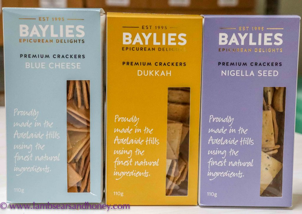 gourmet crackers, Baylies Epicurean Delights