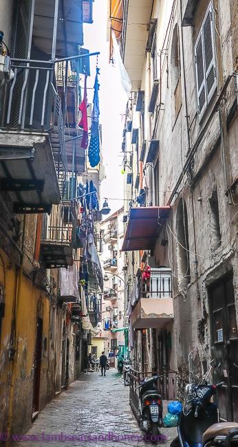 Naples back street