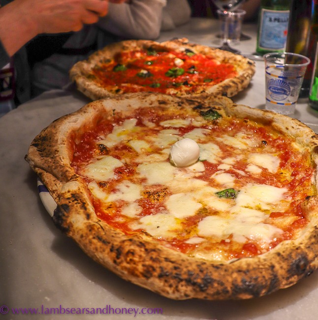 Pizza, in Naples