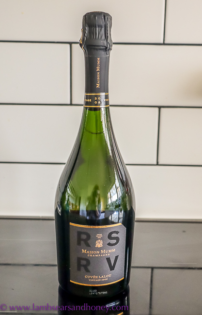 vintage Mumm champagne