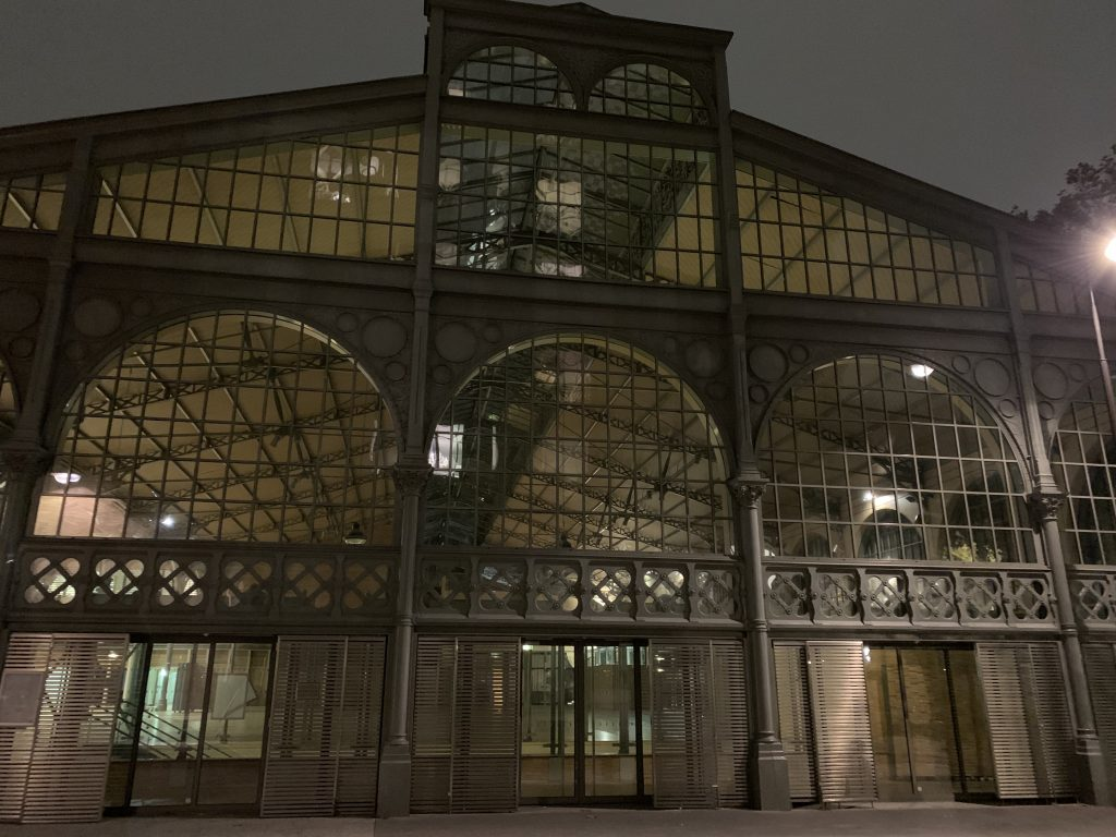 Les Halles food hall