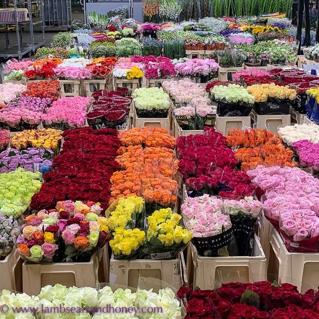 flower market, visit rungis