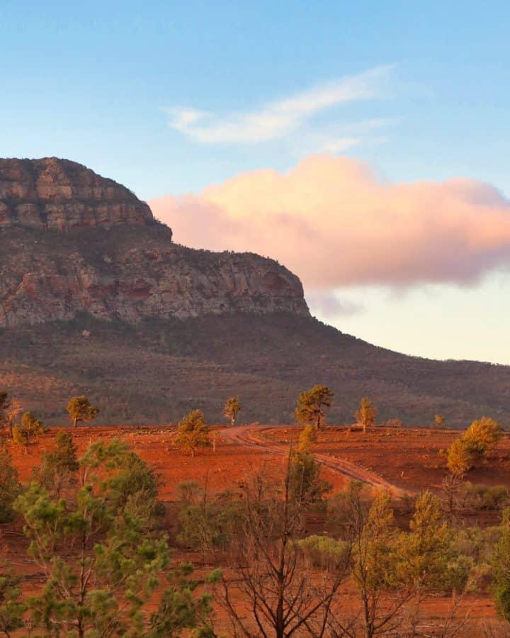 Flinders Ranges, Rawnsley Bluff