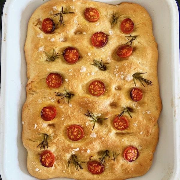 focaccia, more top baking tips
