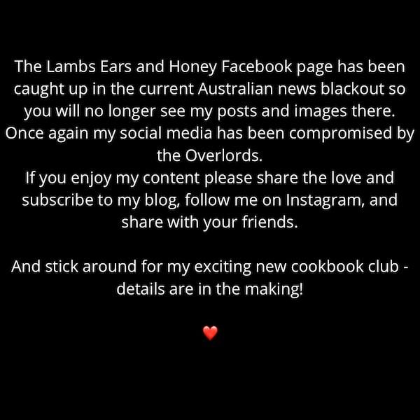 Australia news ban