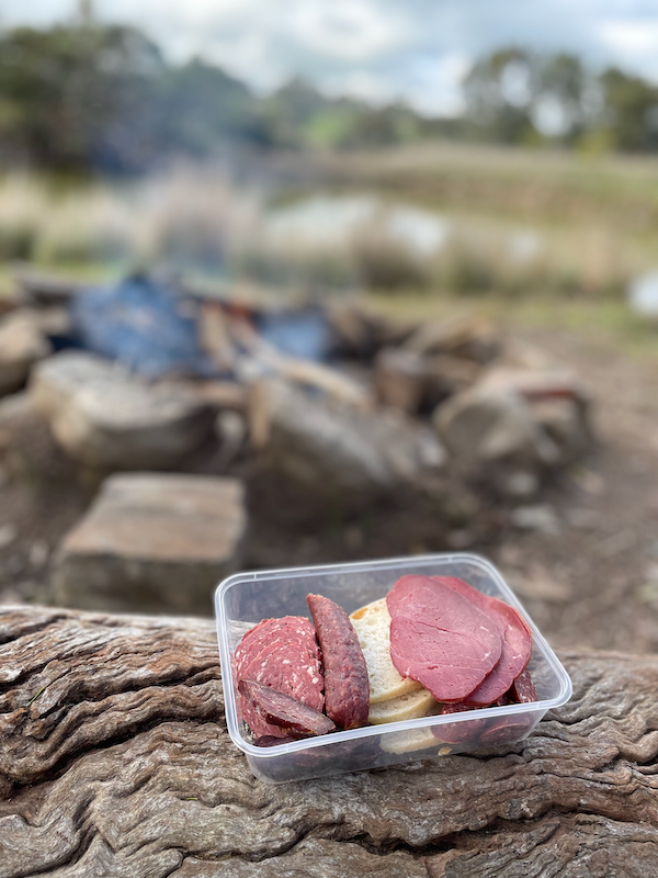 venison smallgoods, holiday here